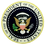 Seal of the President of the United States Fridge Magnet
