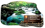 Great Smoky Mountains National Park Artwood Fridge Magnet