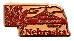 Nebraska Lincoln United States Fridge Magnet
