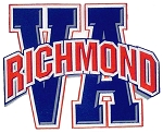 Richmond Virginia Initial Fridge Magnet