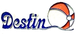 Destin Florida Fridge Magnet