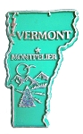 Classic Vermont Montpelier United States Magnet