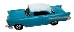 1957 Chevy Blue and White Die Cast Metal Collectible Pencil Sharpener