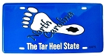North Carolina The Tar Heel State License Plate