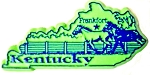 Kentucky Frankfort United States Fridge Magnet