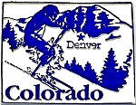 Colorado Denver United States Fridge Magnet