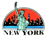 New York City Statue of Liberty Fridge Magnet