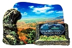 Welcome to Blowing Rock North Carolina Artwood Fridge Magnet