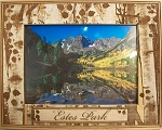 Estes Park Colorado Laser Engraved Wood Picture Frame (5 x 7)