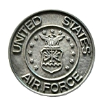 United States Air Force Pewter Fridge Magnet
