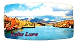 Lake Lure North Carolina Artwood Fridge Magnet