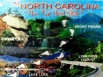 North Carolina The Tar Heel State 4 Points of Interest Hologram Fridge Magnet