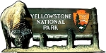 Yellowstone National Park Fridge Magnet