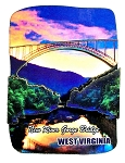 New River Gorge Bridge West Virginia Artwood Fridge Magnet