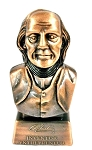 Ben Franklin Bust Die Cast Metal Collectible Pencil Sharpener