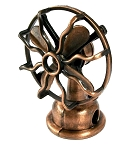 Table Top Fan Die Cast Metal Collectible Pencil Sharpener