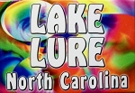 Lake Lure North Carolina Tye Die Fridge Magnet