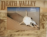 Death Valley California Laser Engraved Wood Picture Frame (5 x 7)