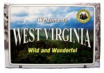 Welcome to Wild and Wonderful West Virginia Fridge Magnet