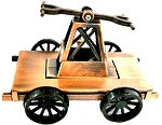 Railroad Hand Cart Die Cast Metal Collectible Pencil Sharpener Design 1