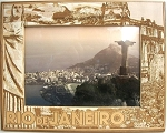 Rio De Janeiro Brazil Laser Engraved Wood Picture Frame (5 x 7)