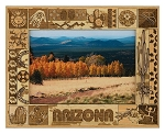 Arizona Laser Engraved Wood Picture Frame (5 x 7)