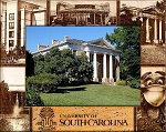 University of South Carolina Laser Engraved Wood Picture Frame (5 x 7)