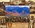 University of Utah Laser Engraved Wood Picture Frame (5 x 7)