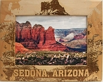 Sedona Arizona Laser Engraved Wood Picture Frame (5 x 7)