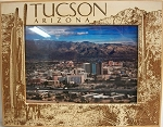 Tucson Arizona Laser Engraved Wood Picture Frame (5 x 7)