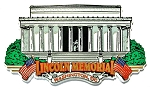 Lincoln Memorial Washington D.C. Fridge Magnet