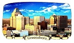 Greensboro North Carolina Artwood Fridge Magnet
