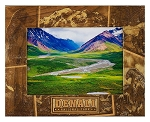 Denali National Park Alaska Laser Engraved Wood Picture Frame (5 x 7)