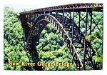 New River Gorge Bridge West Virginia Fridge Magnet