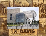 University of California Davis Engraved Wood Picture Frame (5 x 7)