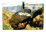 Seneca Rocks West Virginia Artwood Fridge Magnet