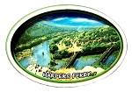 Harpers Ferry West Virginia Oval Artwood Fridge Magnet
