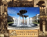 Texas Christian University Laser Engraved Wood Picture Frame (5 x 7)