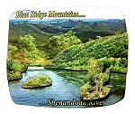 Blue Ridge Mountains Shenandoah River Artwood Fridge Magnet