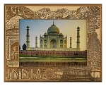 India Laser Engraved Wood Picture Frame (5 x 7)