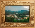 Gatlinburg Tennessee Laser Engraved Wood Picture Frame (5 x 7)