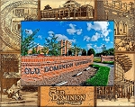 Old Dominion University Laser Engraved Wood Picture Frame (5 x 7)