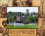 West Point United States Military Academy Engraved Wood Picture Frame (5 x 7)