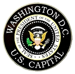 Washington DC U.S. Capital Presidential Seal Fridge Magnet