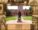 The George Washington University Laser Engraved Wood Picture Frame (5 x 7)