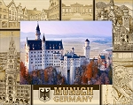 Munich Germany Laser Engraved Wood Picture Frame (5 x 7)