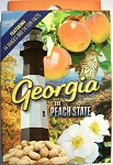 Georgia The Peach State Playing Cards Design 1