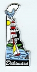 Delaware 6 Color Fridge Magnet