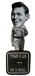 Andy Griffith Sit A Spell Bobble Head