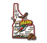 Idaho Jumbo Map Fridge Magnet